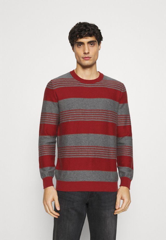 STRIPES - Pullover - red