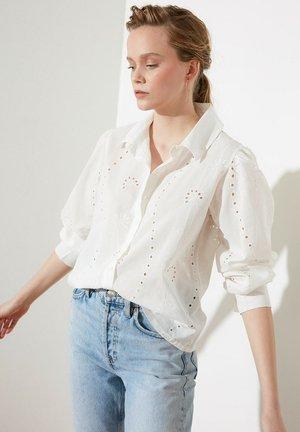 PARENT - Button-down blouse - cream