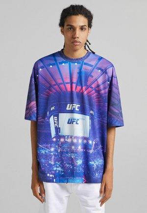 IM EXTRA LOOSE FIT UFC  - Print T-shirt - mauve