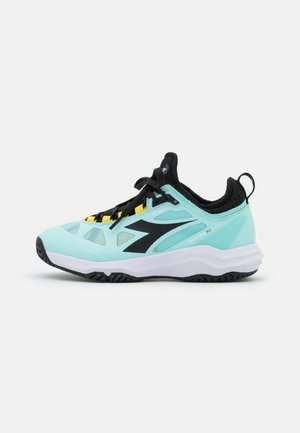 SPEED BLUSHIELD FLY 3 - Zapatillas de tenis para todas las superficies - blue tint/black/white
