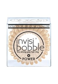 Invisibobble - POWER HAARGUMMI 2 PACK - Hair styling accessory - to be or nude to be - 1