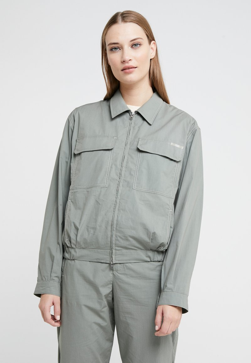 CLOSED - ANOUK - Summer jacket - dusty pine