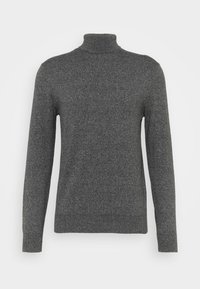 Burton Menswear London - FINE GAUGE ROLL  - Jumper - grey - 4
