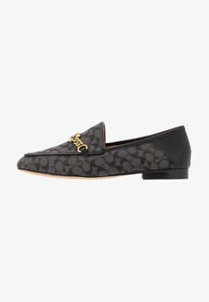HELENA CHAIN LOAFER SIGNATURE  - Slipper - black
