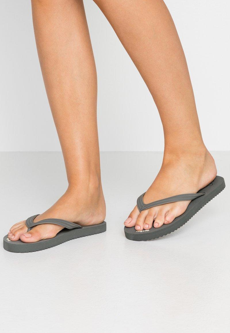 flip*flop - ORIGINAL - Bade-Zehentrenner - granite