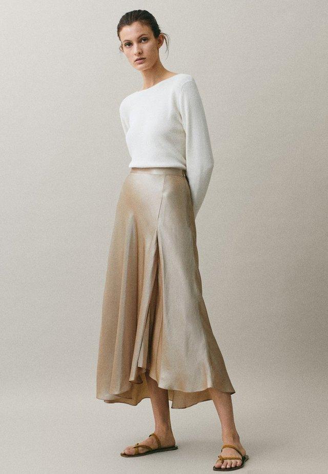 ROCK IN LINGERIE-OPTIK 05220680 - A-line skirt - nude