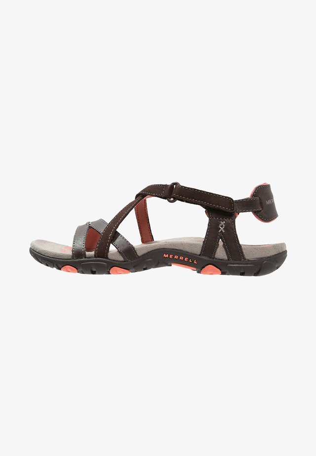 SANDSPUR  - Walking sandals - earth