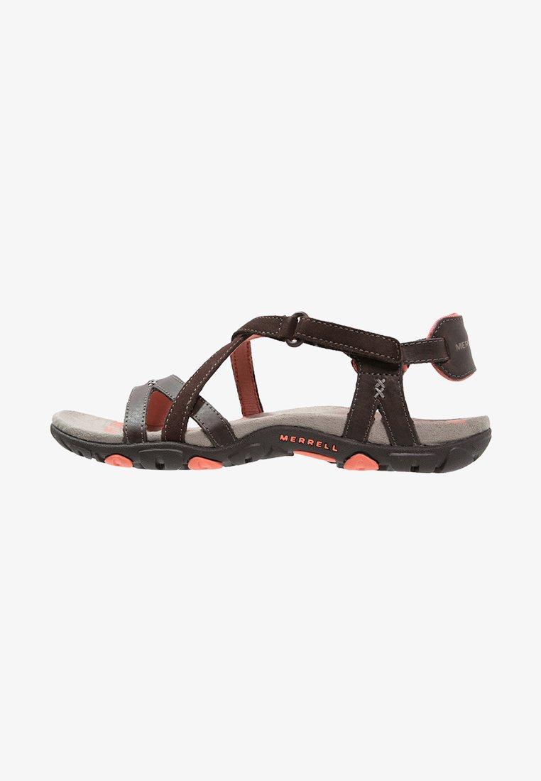 Merrell - SANDSPUR  - Walking sandals - earth