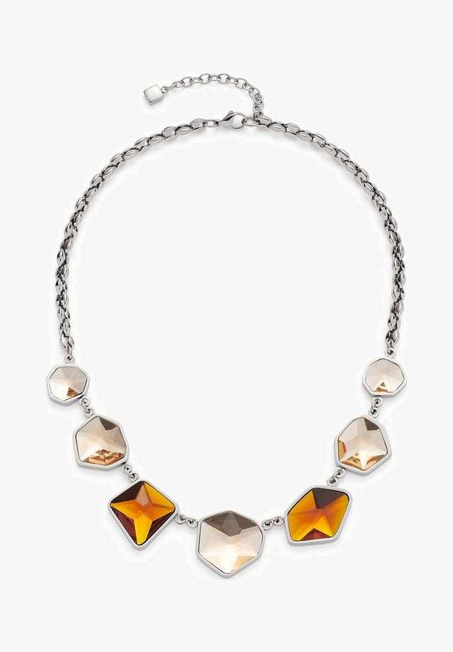 Necklace - cognac
