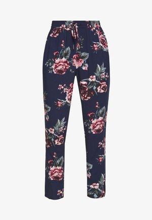 ONLNOVA LIFE PANT - Trousers - night sky/rose