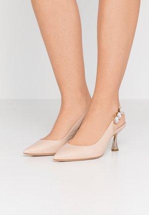 Classic heels - minorca cipria