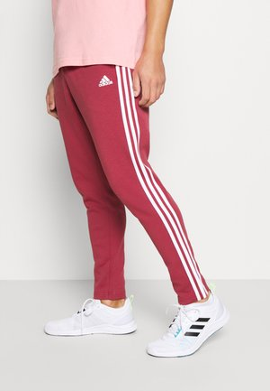 STRIPES MUST HAVES SPORTS REGULAR PANTS - Träningsbyxor - legacy red