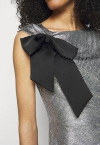 Lauren Ralph Lauren - LONG GOWN - Occasion wear - dark grey/silver - 6