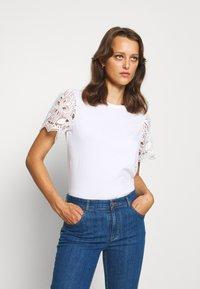 See by Chloé - Print T-shirt - white - 0