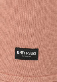 Only & Sons - ONSGARSON LIFE WASH CREW - Stickad tröja - burlwood - 6