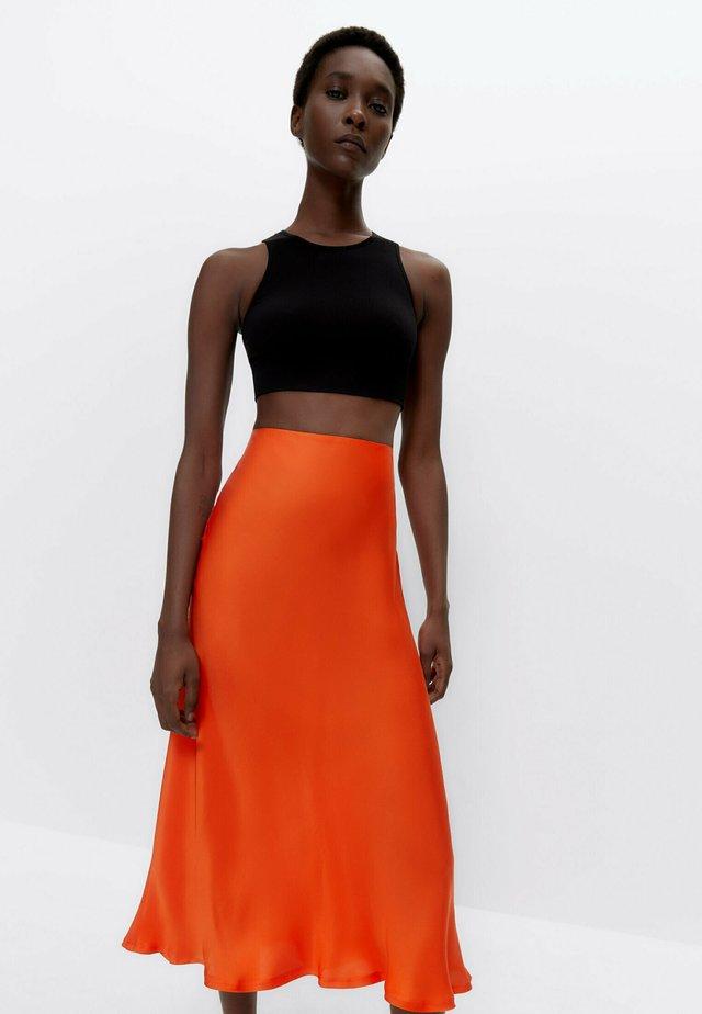 A-lijn rok - orange