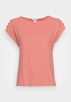 BUTTON - Basic T-shirt - blush