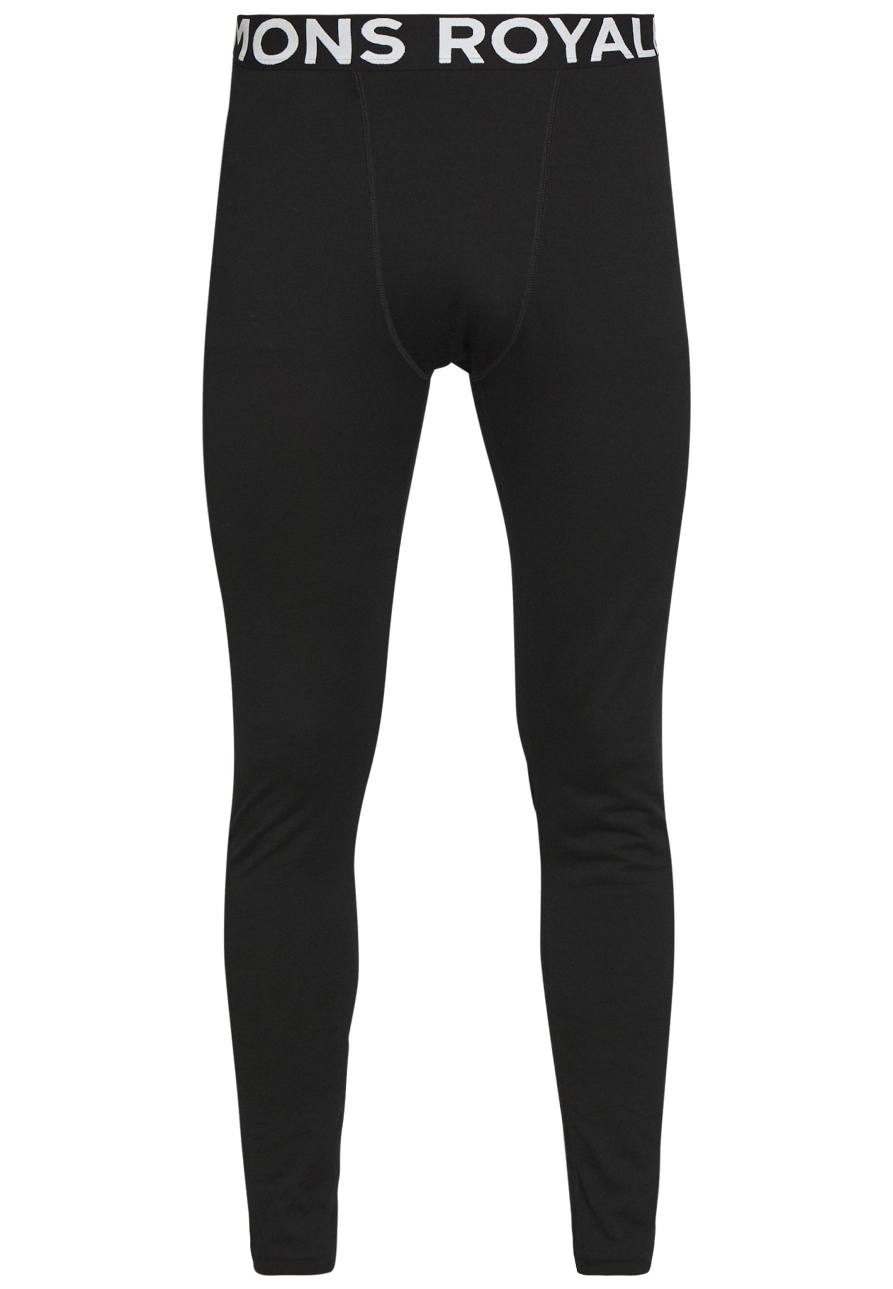 Mons Royale DOUBLE BARREL LEGGING - Langunderbukse - black