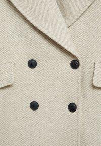 Mango - WILLY - Short coat - beige - 6