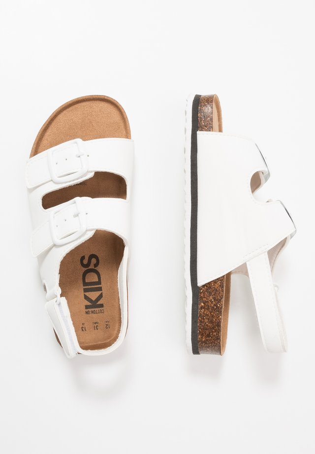 THEO - Sandalen - white