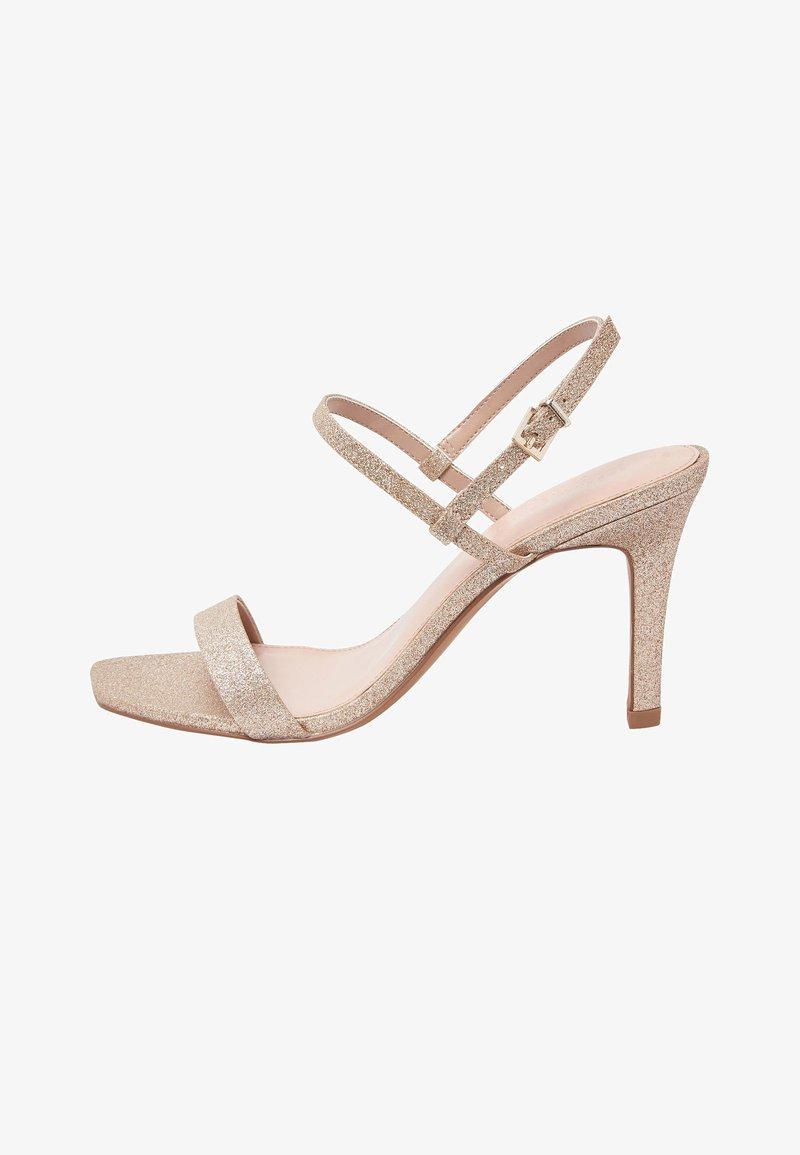 Next - High heeled sandals - gold