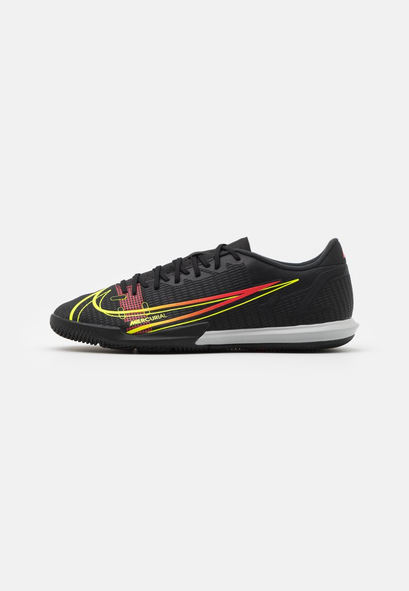 Nike Performance - MERCURIAL VAPOR 14 ACADEMY IC - Indoor football boots - black/cyber/off noir