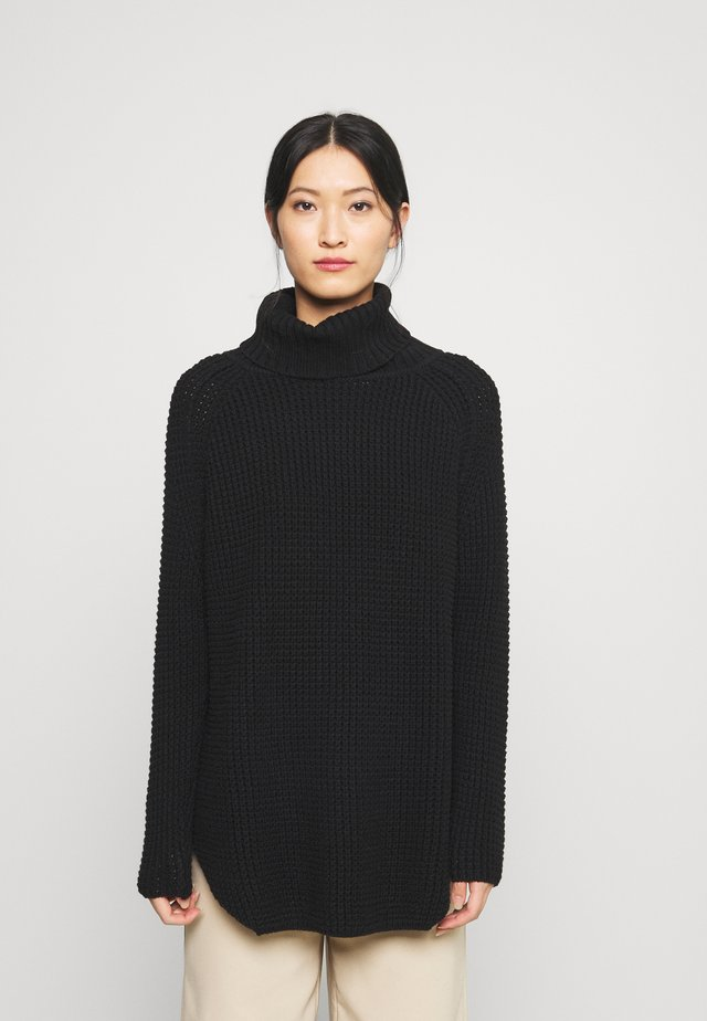 LONG SLEEVE TURTLENECK - Neule - black