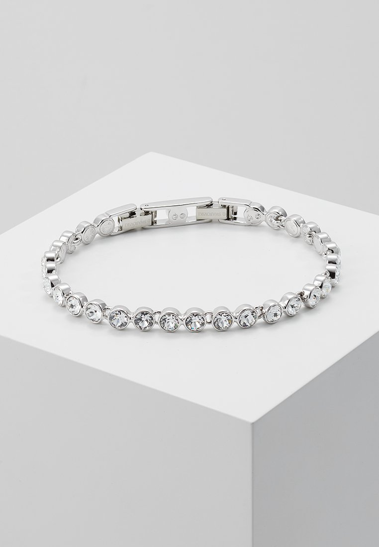 Swarovski - TENNIS BRACELET  - Armband - silver-coloured