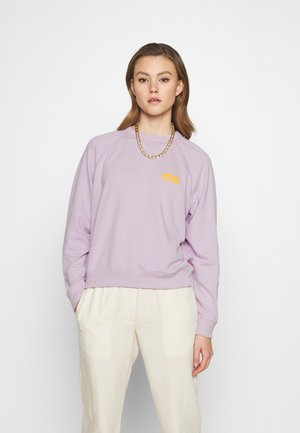 GRAPHIC EVERYDAY CREW - Sweatshirts - lilac