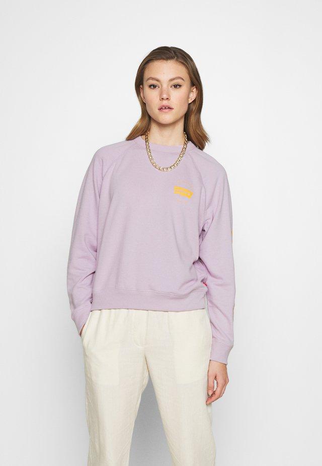 GRAPHIC EVERYDAY CREW - Sweatshirt - lilac