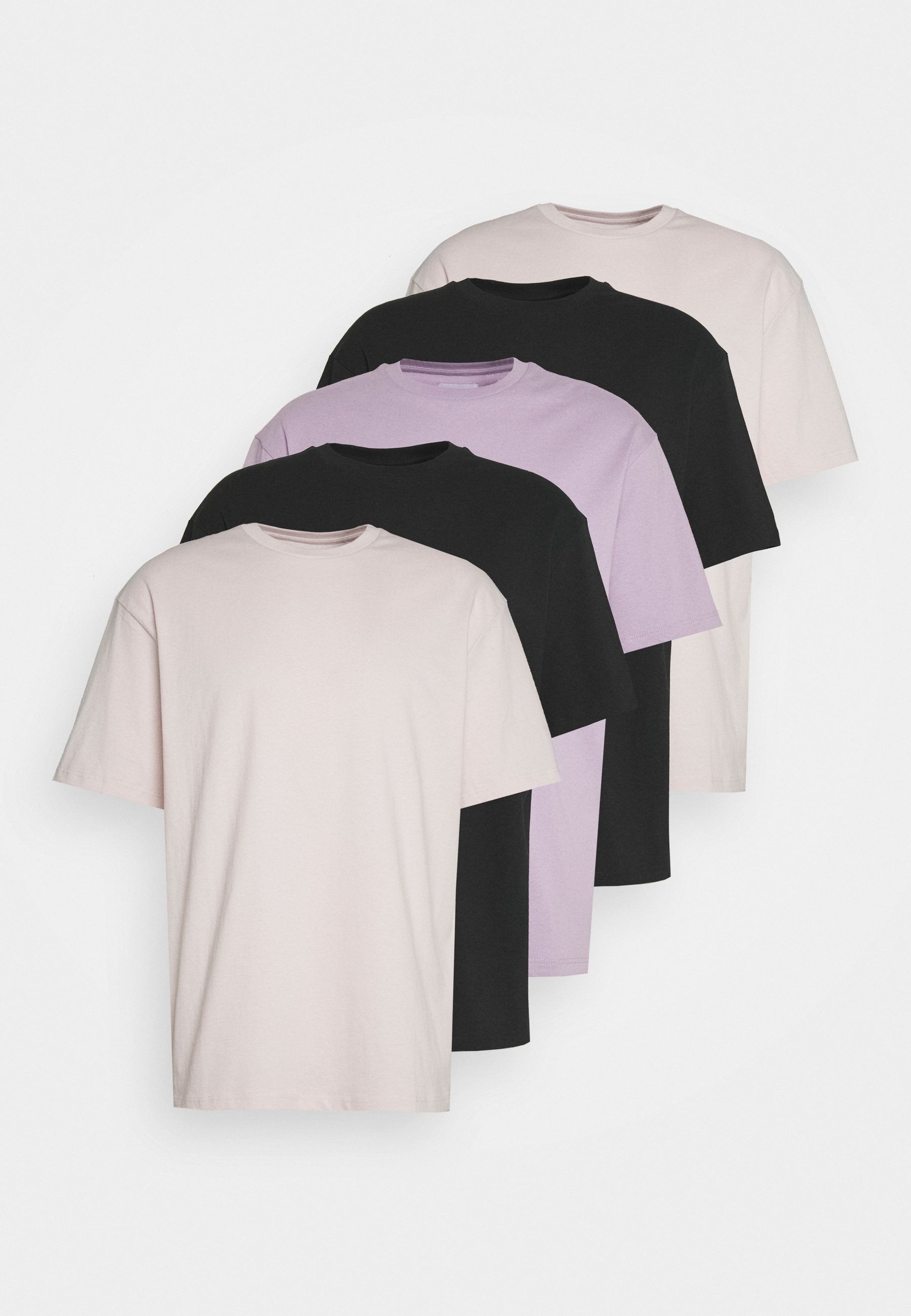 Men 5 PACK - Basic T-shirt
