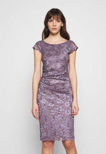Juhlamekko - grau/violett