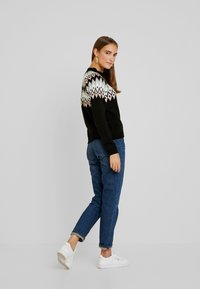 Anna Field - Strickpullover - black - 2