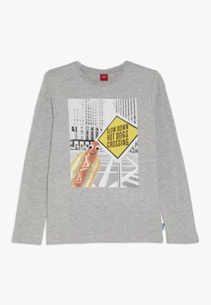 LANGARM - Long sleeved top - grey melange
