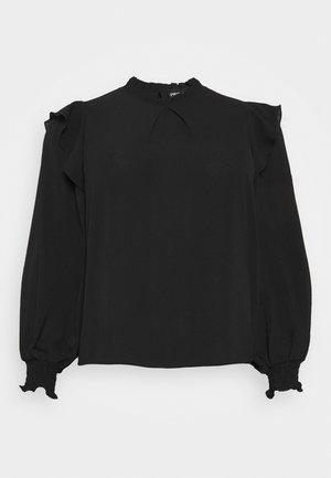 PCRIE - Topper langermet - black