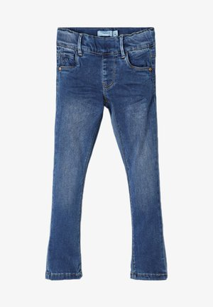 Vaqueros pitillo - medium blue denim