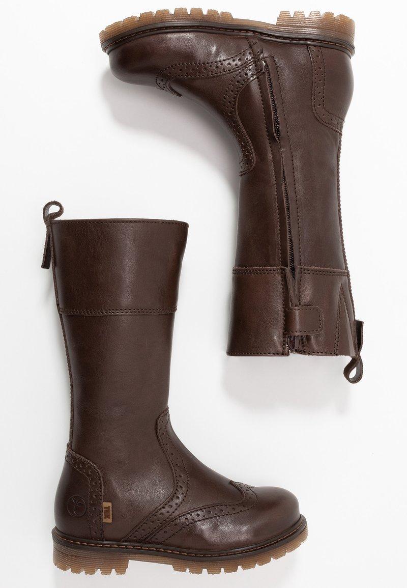 Bisgaard - HIGH - Talvisaappaat - brown