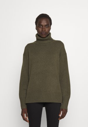 Sweter - loden heather