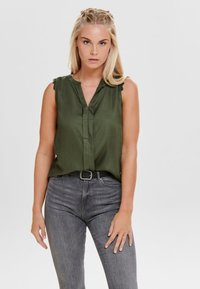 ONLY - Blouse - grape leaf - 0