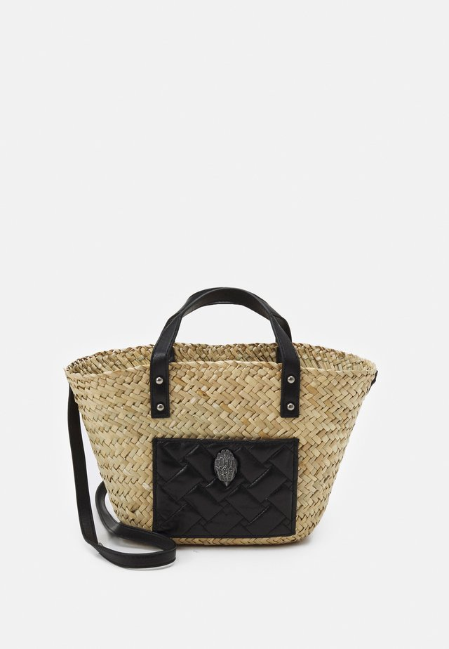 KENSINGTON BASKET - Käsilaukku - black