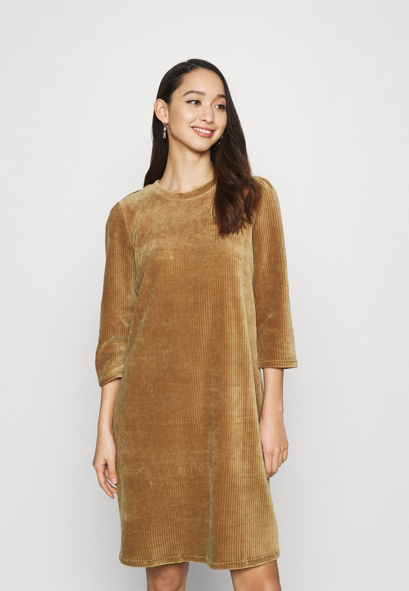 ONLY - ONLFENJA LIFE DRESS  - Day dress - toasted coconut