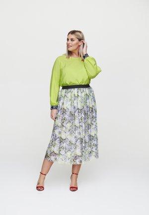 A-line skirt - hellgrã¼n