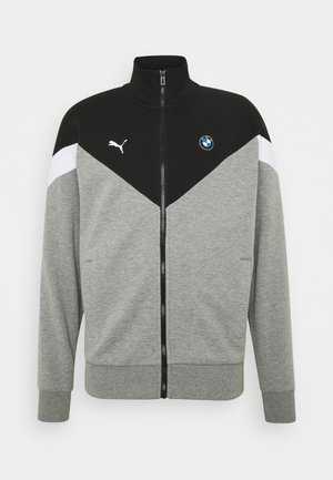 BMW MMS JACKET - Veste de survêtement - medium gray heather