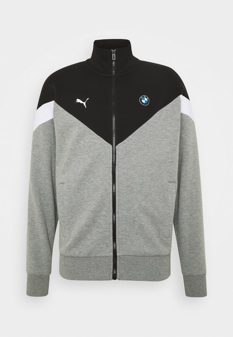 Puma - BMW MMS JACKET - Training jacket - medium gray heather