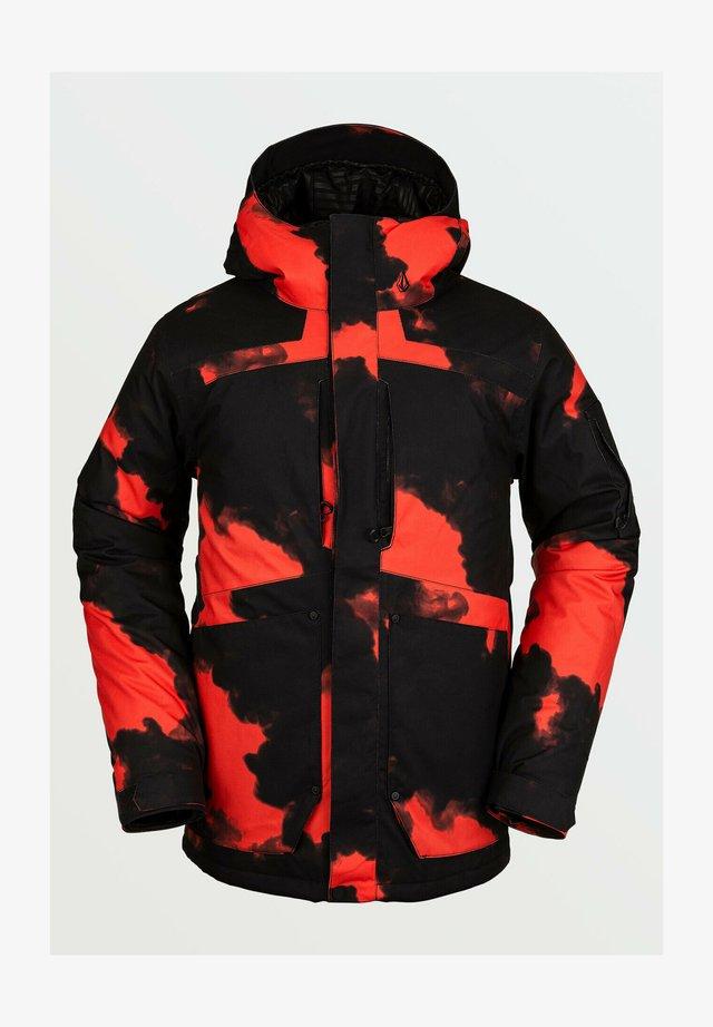 SCORTCH INS JACKET - Giacca da snowboard - red