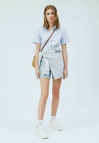 Pepe Jeans - Button-down blouse - light blue - 1