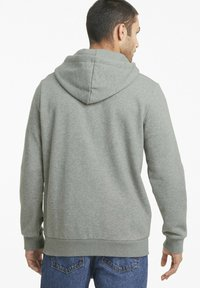 Puma - Zip-up hoodie - medium gray heather - 2