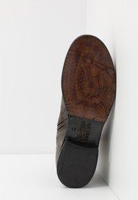 A.S.98 - CLASH - Cowboy/biker ankle boot - smoke - 4