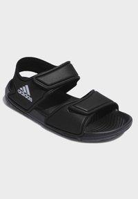 adidas Performance - ALTASWIM - Sandales de bain - black - 4
