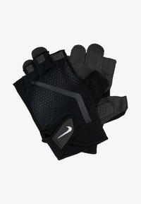 Nike Performance - MEN´S EXTREME FITNESS GLOVES - Fingerless gloves - black/anthracite/white - 1